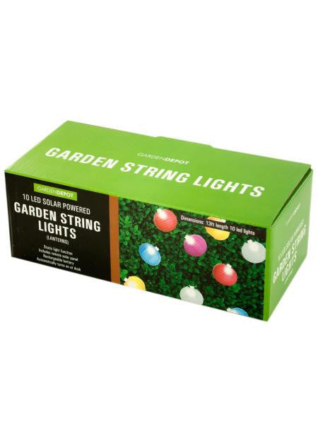 Solar Garden Lantern String Lights (Available in a pack of 1)