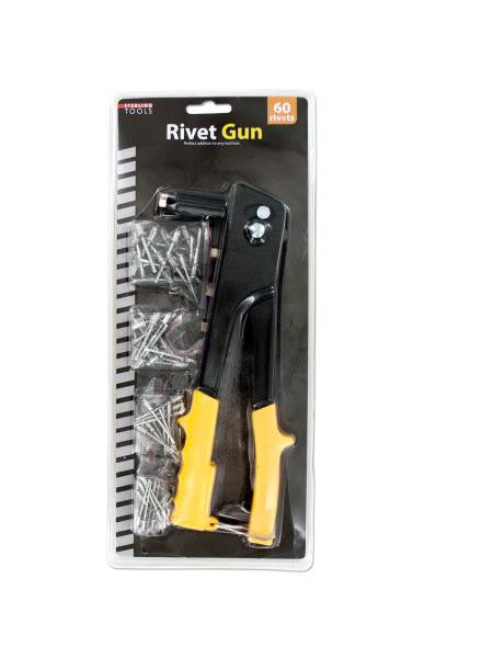 Rivet Gun with Assorted Rivets (Available in a pack of 4)