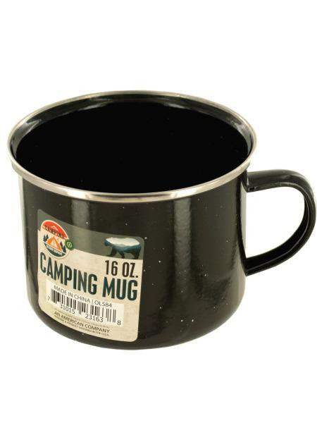 Enamel Camping Mug (Available in a pack of 12)