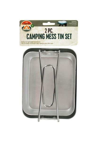 Camping Mess Tin Set (Available in a pack of 6)