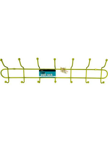 7 Hook Metal Wall Rack (Available in a pack of 4)