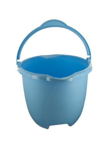 Plastic Bucket with Handle & Pour Spouts (Available in a pack of 4)