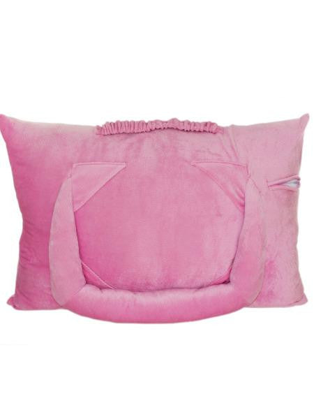 Pink Plush Tablet Pillow (Available in a pack of 1)