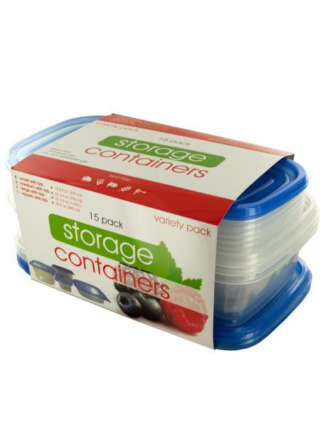 Variety Food Storage Container Set (Available in a pack of 4)