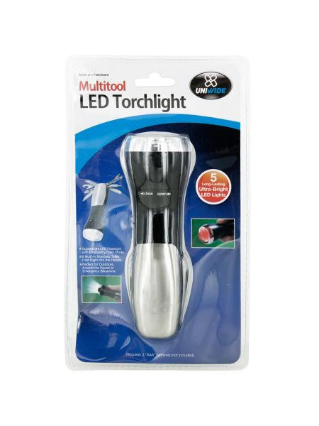 Multi-Tool LED Flashlight (Available in a pack of 4)
