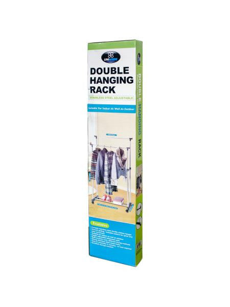 Double Rail Clothes Hanger (Available in a pack of 1)