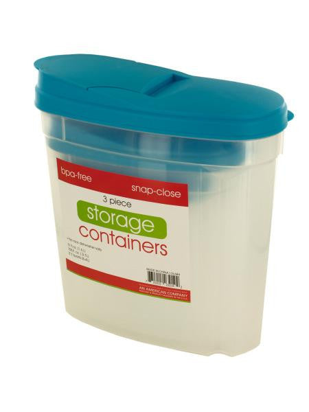 Pourable Food Storage Container Set (Available in a pack of 1)