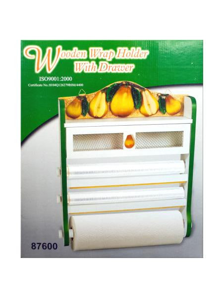 Pear 4-in-1 Kitchen Wall Storage Rack (Available in a pack of 1)