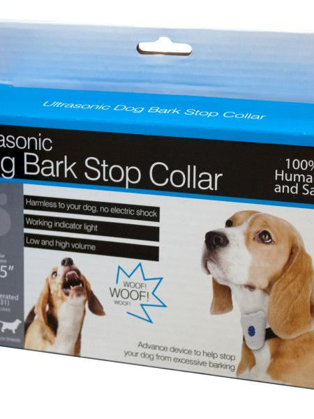 Ultrasonic Bark Prevention Dog Collar (Available in a pack of 2)