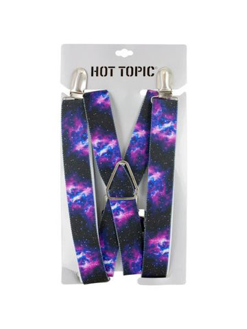 Galaxy Print Suspenders (Available in a pack of 6)