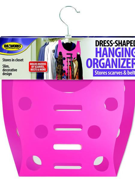 Dress-Shaped Hanging Organizer (Available in a pack of 8)