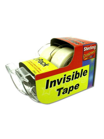 Invisible Tape with Dispensers (Available in a pack of 24)