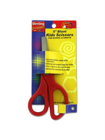 Blunt Tip Kids Scissors (Available in a pack of 24)