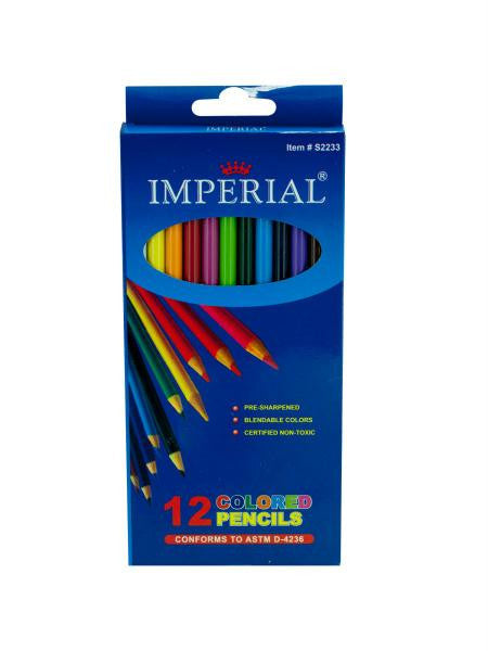 Blendable Colored Pencils Set (Available in a pack of 12)