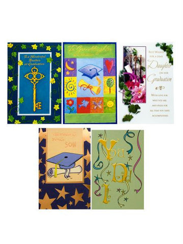 Assorted Graduation Cards (Available in a pack of 24)