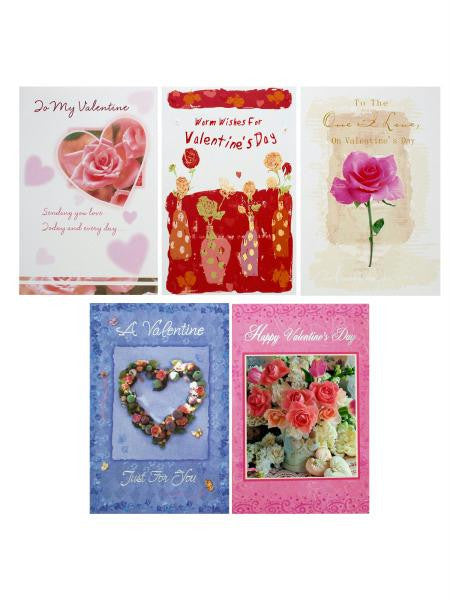 Valentine's Day Card Assortment (Available in a pack of 24)