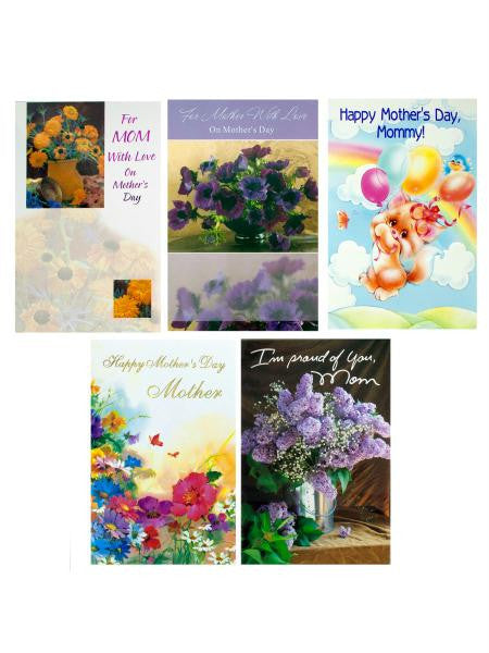 Mother's Day Card Assortment (Available in a pack of 24)