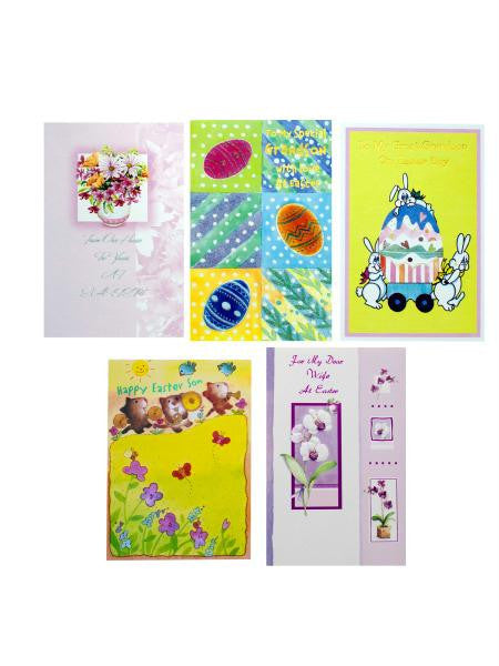Assorted Easter Cards (Available in a pack of 24)