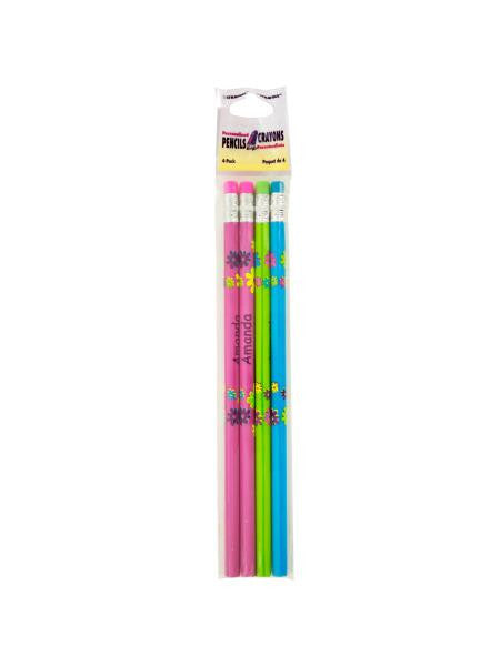 Personalized Pencils Set (Available in a pack of 24)