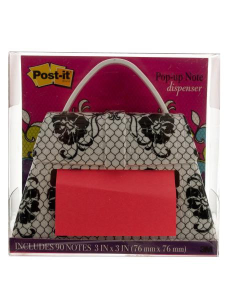 Purse-shaped Post-it Note Pop-up Dispenser (Available in a pack of 2)