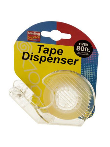 Refillable Tape Dispenser (Available in a pack of 18)