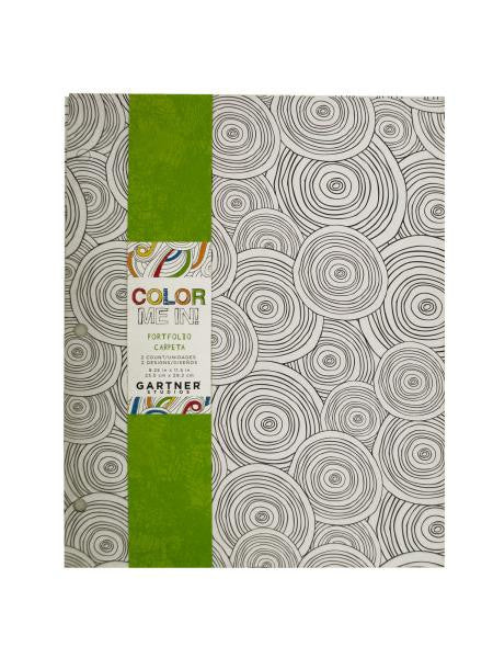 Color Me In 2 Pocket Portfolio Set (Available in a pack of 24)