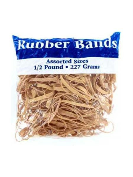 Rubber Bands Assortment (Available in a pack of 24)