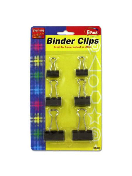 Binder Clips Set (Available in a pack of 24)