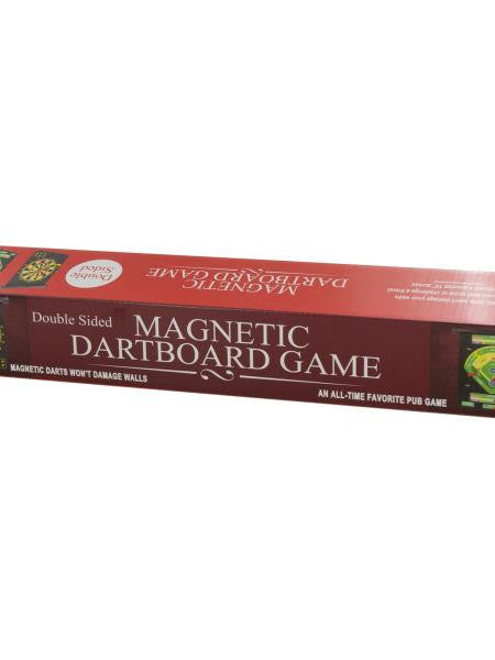 Double-Sided Magnetic Dartboard Game (Available in a pack of 1)