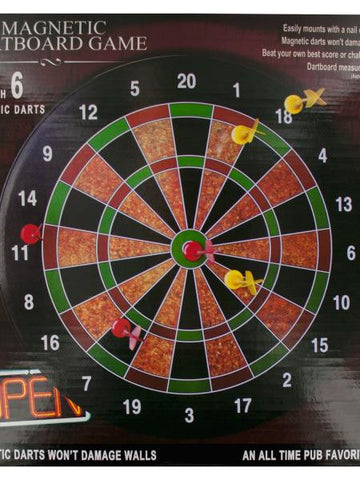 Magnetic Dartboard Game (Available in a pack of 1)
