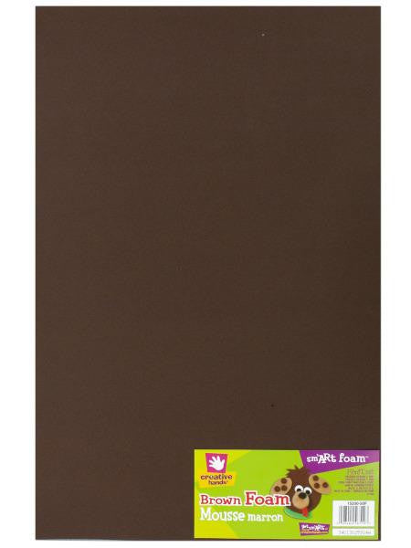Brown Sm'art Foam Craft Sheet (Available in a pack of 36)