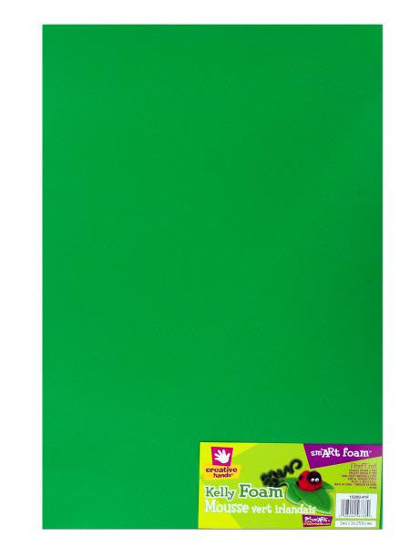 Kelly Green Sm'art Foam Craft Sheet (Available in a pack of 36)