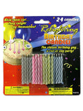 Relighting Birthday Candles (Available in a pack of 24)