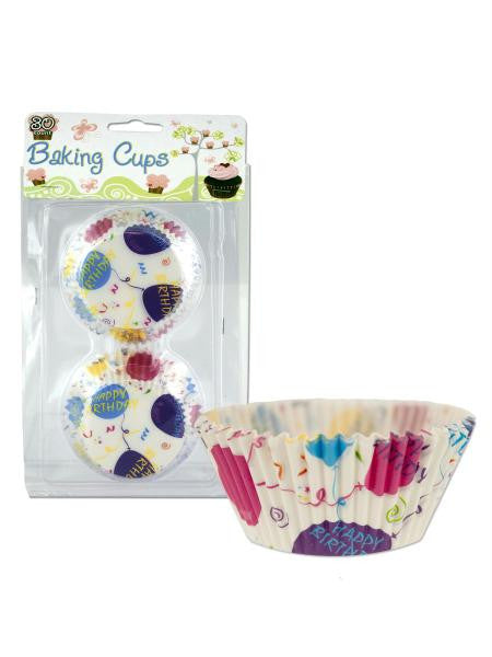 Happy Birthday Baking Cups (Available in a pack of 24)
