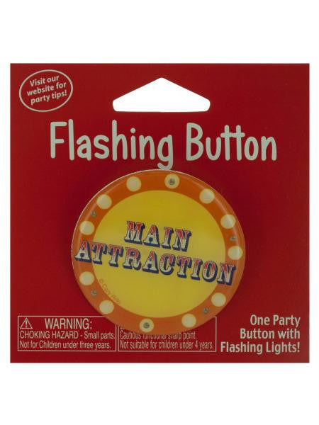 Main Attraction Flashing Button (Available in a pack of 24)