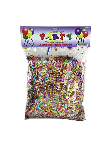 Jumbo Metallic Confetti Pack (Available in a pack of 24)