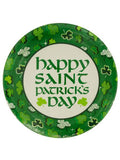 Shamrock Party Round Plates Set (Available in a pack of 24)