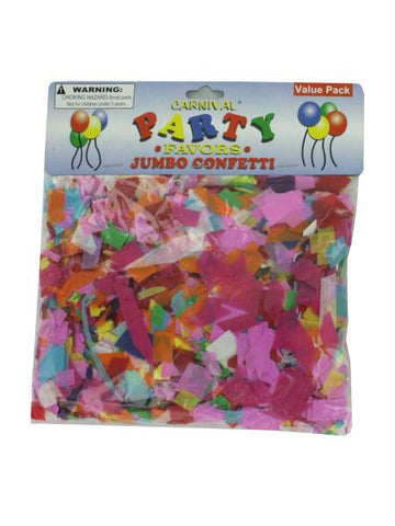Jumbo Paper Confetti (Available in a pack of 24)