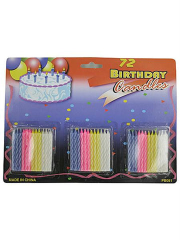 Birthday Candle Set (Available in a pack of 24)