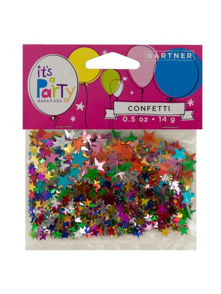 Multi-Colored Stars Confetti (Available in a pack of 24)