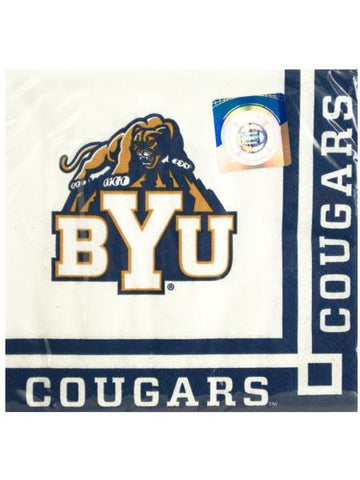Brigham Young University Beverage Napkins (Available in a pack of 24)