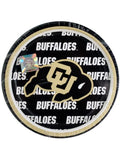 University of Colorado Dessert Party Plates (Available in a pack of 24)