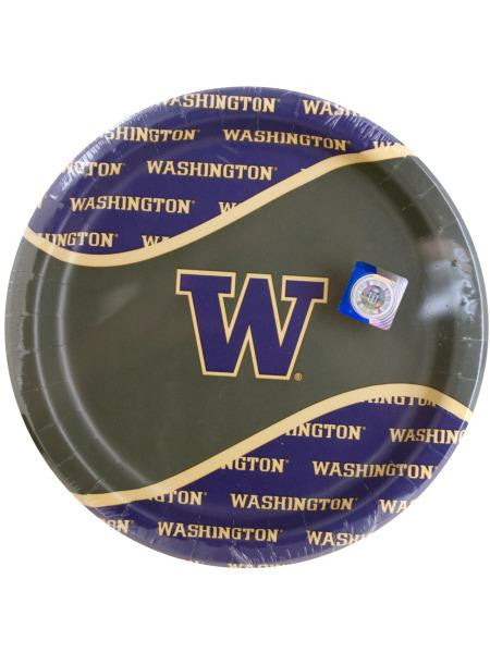 University of Washington Party Plates (Available in a pack of 24)