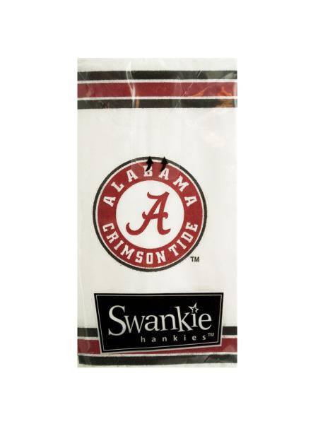 Alabama Crimson Tide Pocket Tissues (Available in a pack of 24)