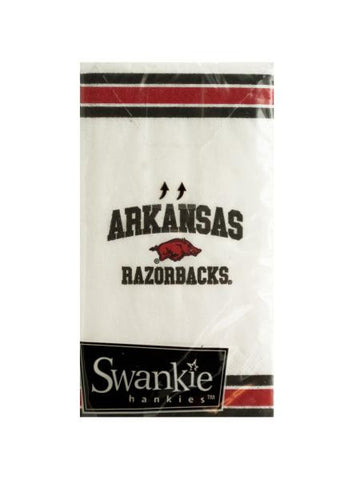 Arkansas Razorbacks Pocket Tissues (Available in a pack of 24)