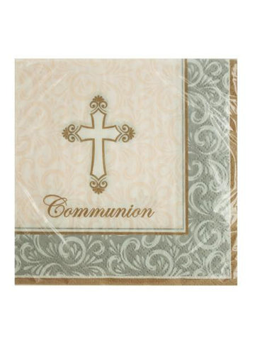 Divinity Communion Beverage Napkins (Available in a pack of 24)