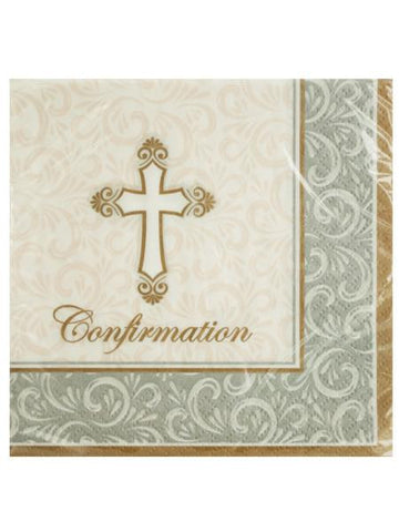 Divinity Confirmation Beverage Napkins (Available in a pack of 24)