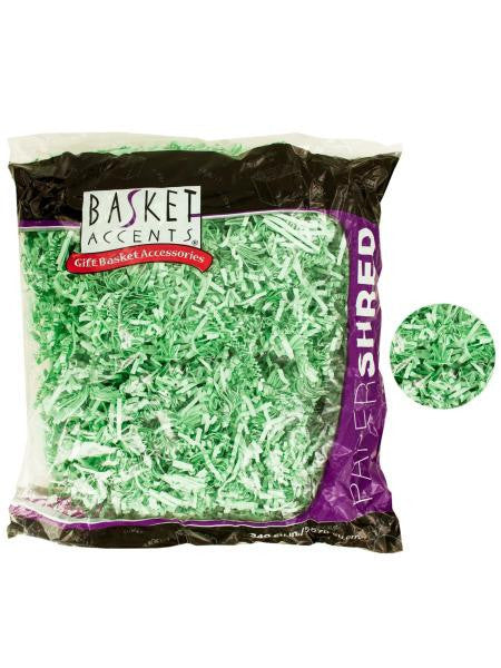 Mint Green Paper Gift Shred (Available in a pack of 12)