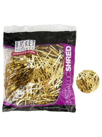 Large Gold Metallic Gift Shred (Available in a pack of 12)
