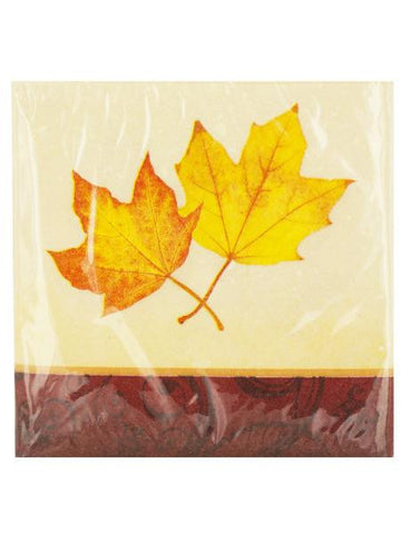 Autumn's Gift Beverage Napkins (Available in a pack of 24)